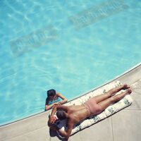 Slim Aarons, 'Slim Aarons 'Lake Tahoe Couple' (Slim Aarons Estate Edition, Poolside)', 1959