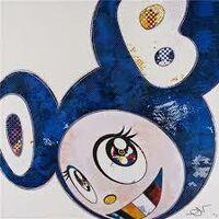 Takashi Murakami, 'And Then x 727 (Ultramarine : Gunjo)', 2003