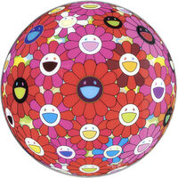 Takashi Murakami, 'Flower Ball (3D) Red Pink Blue', 2013