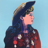 Andy Warhol, 'Cowboys and Indians; Annie Oakley', 1986