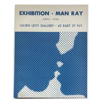 """Man Ray, '""""Exhibition-Man Ray"""", 1945, Exhibition Catalogue, Julien Levy Gallery NYC, Designed by Duchamp, RARE', 1945"""