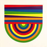Sol LeWitt, 'Arcs and Bands in Color B', 1999