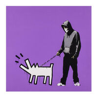 Banksy, 'Choose Your Weapon (Bright Purple) - Signed', 2010