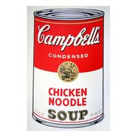 Andy Warhol, 'Soup Can 11.45 (Chicken Noodle)', 1990-2020