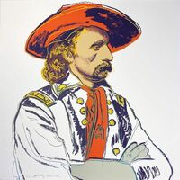 Andy Warhol, 'Cowboys and Indians: General Custer II.379', 1986