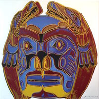 Andy Warhol, 'Northwest Coast Mask, from Cowboys and Indians FS II.380', 1986