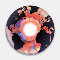Marc Quinn, 'The Eye of History (Atlantic Perspective)(Inverted Reversal)', 2012