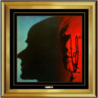 Andy Warhol, 'Andy Warhol Hand Signed Color Lithograph The Shadow Self Portrait Framed Artwork', 1981