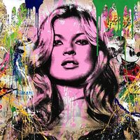 Mr. Brainwash, 'Cover Girl', 2017