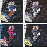 Andy Warhol, 'Beethoven Portfolio (II.390 - II.393', 1987