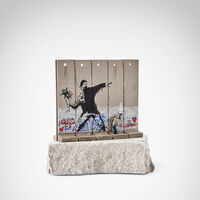 Banksy, 'Walled Off Hotel - Flower Thrower'