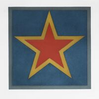 Sol LeWitt, 'Stars - Red Center', 1983