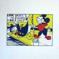 Roy Lichtenstein, 'Look Mickey', 1987