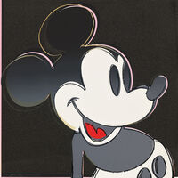 Andy Warhol, 'Mickey Mouse, from Myths (F & S. 265)', 1981