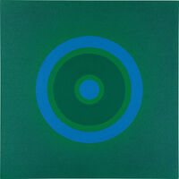 Kenneth Noland, 'Mysteries: To Blue', 1999