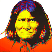 Andy Warhol, 'Geronimo II.384', 1986
