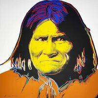 Andy Warhol, 'Cowboys and Indians: Geronimo, II.384', 1986