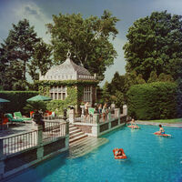 Slim Aarons, 'Family Pool (Slim Aarons Estate Edition)', ca. 1960