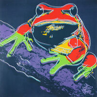 Andy Warhol, 'Pine Barrens Tree Frog (FS II.294)', 1983