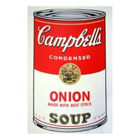 Andy Warhol, 'Soup Can 11.47 (Onion w/Beef Stock)', 1990-2020