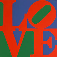 Robert Indiana, 'Classic Love', 1997