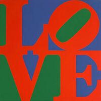 Robert Indiana, 'Classic Love', 1997