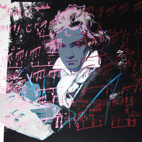 Andy Warhol, 'Beethoven II.391', 1987