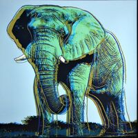 Andy Warhol, 'Elephant for Art Basel', 1987