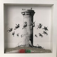 Banksy, 'banksy walled off hotel box set', 2017