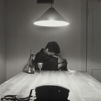 Carrie Mae Weems, 'Untitled (Woman and phone) from the series The Kitchen Table', 1990