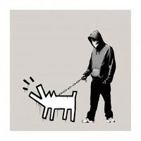 Banksy, 'Choose Your Weapon (Warm Grey / Queue Jumper Grey) (Signed)', 2010