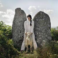 Marina Abramović, 'Holding the Goat', 2010
