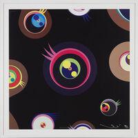 Takashi Murakami, 'Jellyfish Eyes - Black 1', 2011