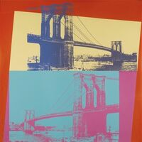 Andy Warhol, 'Brooklyn Bridge (FS II.290) ', 1983