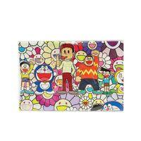 Takashi Murakami, 'Takashi Murakami x Doraemon Fabric Print (Tokyo Exclusive) (Small), 2017', 2017
