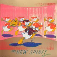 Andy Warhol, 'The New Spirit (Donald Duck) 357', 1985