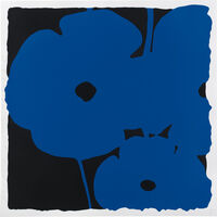 Donald Sultan, 'Poppies, June 6th, 2011 (Blue)', 2011