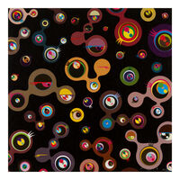 Takashi Murakami, 'Jellyfish Eyes - Black 4', 2004