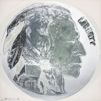 Andy Warhol, 'Cowboys and Indians: Indian Head Nickel, II.835', 1986
