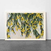Donald Sultan, 'Yellow Mimosa, July 23, 2015', 2015