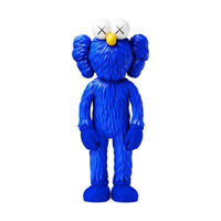 KAWS, 'BFF MoMA Exclusive Blue Companion', 2017