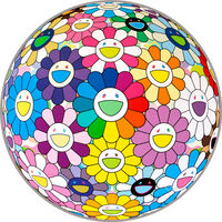 Takashi Murakami, 'Flower Ball (Annular Solar Eclipse)', 2017