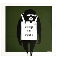 Banksy, 'KEEP IT REAL / LAUGH NOW (Green Cover Album)', 2008