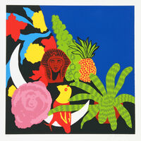Hunt Slonem, 'Brussel Sprouts', ca. 1980
