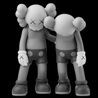 "KAWS, '""ALONG THE WAY"" (GREY)', 2019"