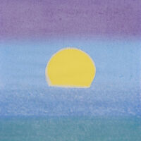Andy Warhol, 'Sunset (Unique) (Yellow/Blue/Green)', 1972