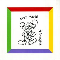 Keith Haring, 'Andy Mouse (from the Estate of Warhol Foundation curator Tim Hunt)', 1986