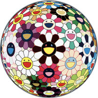 Takashi Murakami, 'Flower Ball Brown', 2007