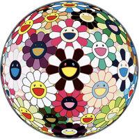 Takashi Murakami, 'Flower Ball Brown', 2007