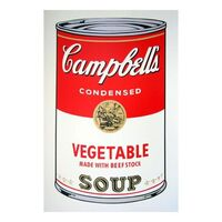 Andy Warhol, 'Soup can 11.48 (Vegetable w/ Beef Stock)', 1990-2020
